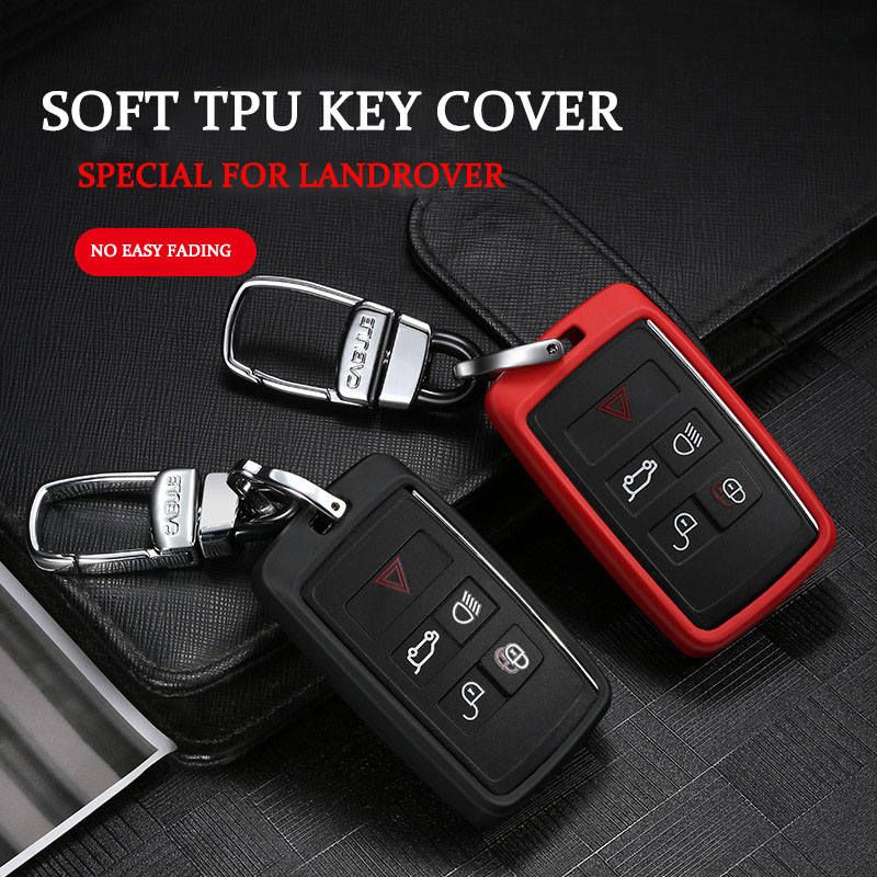 Golden Key Cover Case Shell fit for Land Range Rover Discovery 4 Evoque