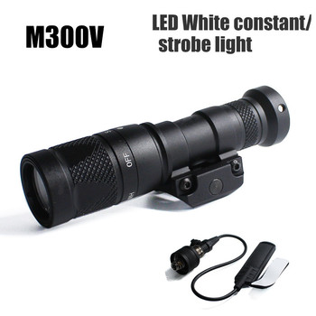 aimtis compact apl tactical glock pistol light constant momentary strobe flashlight led white light for glock rails Tactical  M300V Mini Scout Light Weaponlight 400 Lumens Output Constant/Momentary/Strobe Flashlight for Hunting