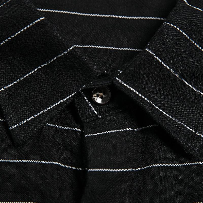 Taille Sociale À D'affaires 8xl Décontractée 1 10xl Manches Longues Hommes 6xl 2 Plus Chemises 4xl Mâle Robe Chemise Rayé Grande Classique 5xl 5UqcnBp