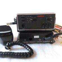 Выше star 100 Вт полицейская сирена усилители скорой помощи пожарной сирены автомобиля охранной сигнализации с панели управления+ microhone(без динамика