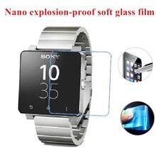 Für Sony SW2 SW3 Smartwatch Super Dünne Hart Gehärtetem Glas Schirmschutz Sicherheit Schutz 9 H Glas Film