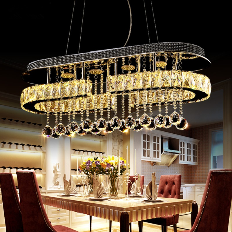 Us 280 0 30 Off Modern Chandelier Led Suspended Lamps Living Room Suspension Luminaire Restaurant Lighting Fixtures Dining Hanging Lights In