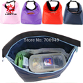 1pc Easy Carrying Lunch Bag Happy Meal Bolsa Termica Box Picnic LunchBox for Kids -- BIB053 PRP Wholesales