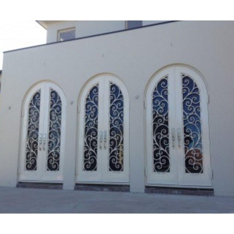 Portes intérieures portes en aluminium portes à double vitrage
