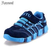 2017 cuero genuino pequeño shoes piel de vaca hijo varón adolescente deporte running shoes