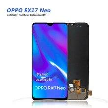 Ekran dotykowy z ekranem montaż wyświetlacza LCD OPPO RX17 Neo cph1893 ekran matrycy LCD dla OPPO RX17 pro