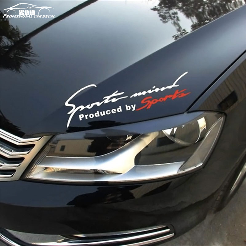 Узор гоночный автомобиль укладки Стикеры Спорт Дизайн для мото-Авто Водонепроницаемый Светоотражающие Наклейка для ford VW Opel Renault BMW Kia