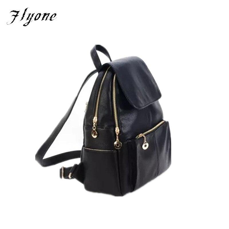 2017 Flyone newest fashion backpack hot sale women bag leisure girl pack bag Preppy Style school
