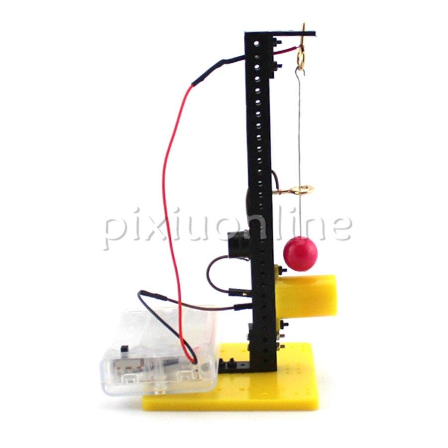 1set J724 Acousto-optic Earthquake Alarm Apparatus Model DIY Assembled Educational Toy Free Europe Shipping