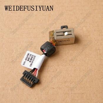 10PCS/LOT DC Power Jack Harness Plug Cable For Dell Latitude 13 7000 7350 13-7000 13-7350 Series Laptop DC30100ST00 A14891-GT074