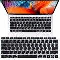Силиконовая крышка клавиатуры для нового Macbook Air 13 дюймов 2018 2019 подходит только для модели A1932 Black