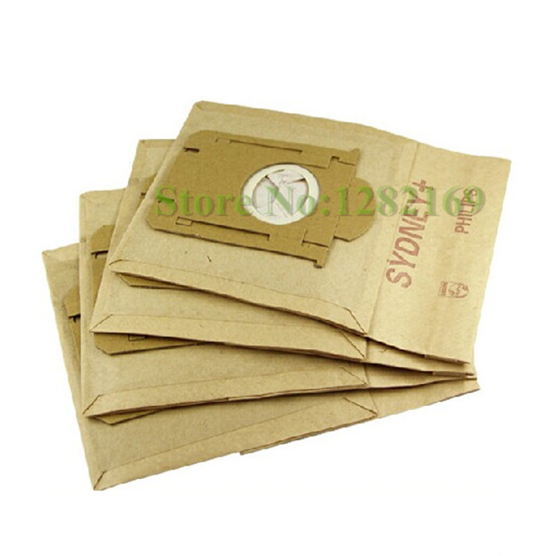 10 pieces/lot Vacuum Cleaner Bags Filter Paper Bag Dust Bags for electrolux Airclean,Airmax ZAM, Bolido,Clario,S-bag series etc.