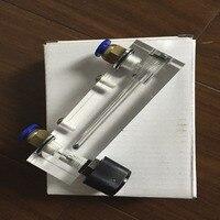 LZT-4T 0.2-2 lpm 0.2-2l/min 사각 패널 가스 액체 유량계 유량계 rotameter lzt4t 도구 유량 측정