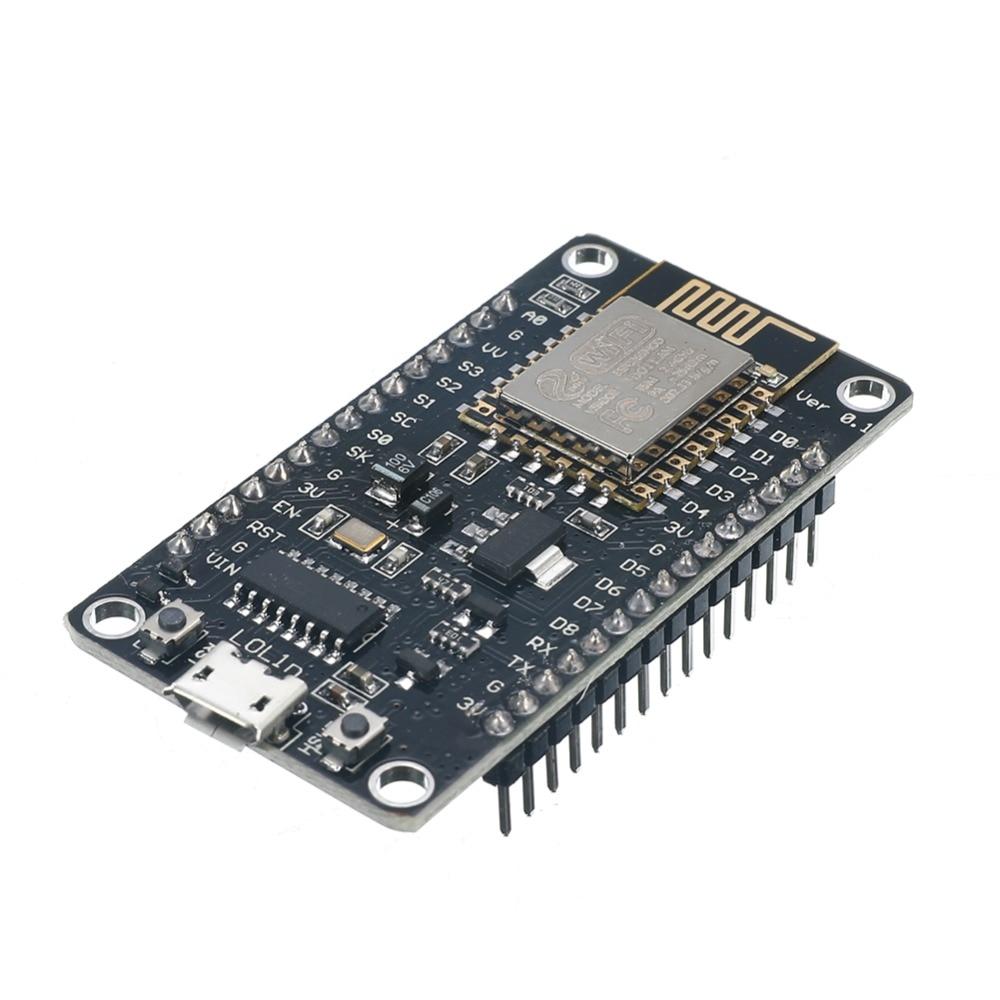 1 Pcs Nodemcu Lua Esp8266 Ch340g Wifi Internet Entwicklung Bord Modul Starke Verpackung