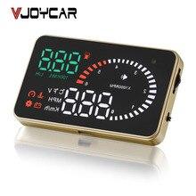 """VJOYCAR X6 3 """"Hud Head Up Display OBD2 Fahrzeug Speedometer Über Geschwindigkeitswarnung Windschutzscheibe Projektor OBD II Schnittstelle, FREIES Verschiffen!"""