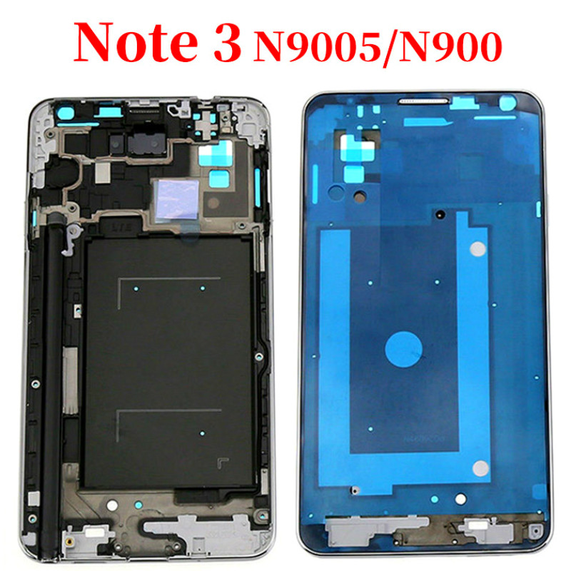 For Samsung Galaxy Note3 / N900 Note 3 N9005 Mid Middle Frame Housing Plate Bezel Cover Case Replacement Parts Repair Part