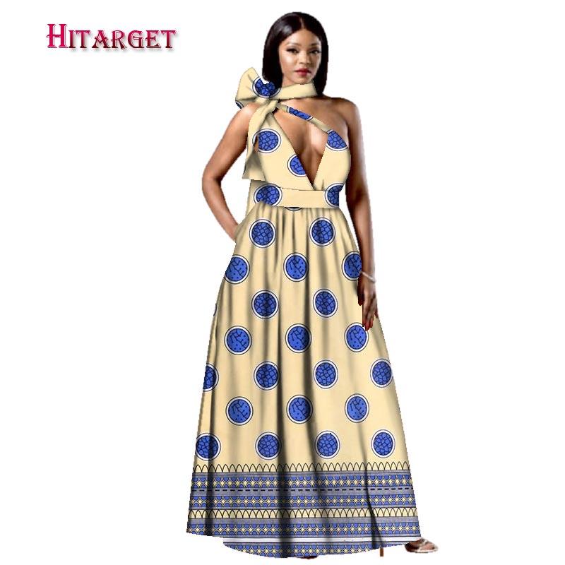 Décontracté Wy2995 4 13 Longue Africain Sexy Robes 10 Imprimer 2 7 19 20 Afrique Grande 18 Coton Asymétrique 6 14 1 16 Pour 5 17 Femmes Bazin 12 Riche 3 Taille GUMLVjSpzq