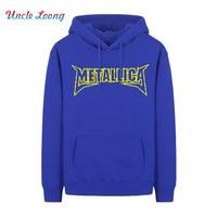 Rock Tee Fashion James Hetfield METALLICA Heavy Metal Music Thrash Metal Hoodies Sweatshirts Size XS-XXL