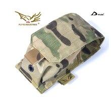 лучшая цена Genuine FLYYE Smoke Grenade Pouch In stock Military camping modular combat CORDURA G003