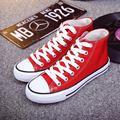 Coreano de moda de verano multicolor Transpirable Casual zapatos de lona planos envío gratis