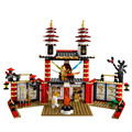 Bela 9795 Fantasma LEPIN Templo da Luz Blocos Tijolos Brinquedos Compatível com Lepin Sluban Decool 70505