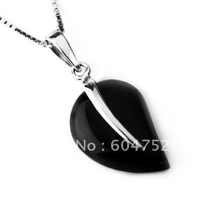 Wholesale and Retail for Real 925 Sterling Silver Agate Pendant, 925 Silver Pendant, Top Quality!! (I0153)