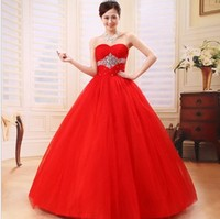 Most Popular Ball Gown Sweetheart Quinceanera Dresses Long Organza Beads Sequins Sexy Prom Dresses vestido quinceanera
