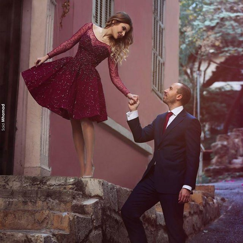 Dark Purple Prom Dresses 2017 Charming Puffy A Line Sheer Long ...