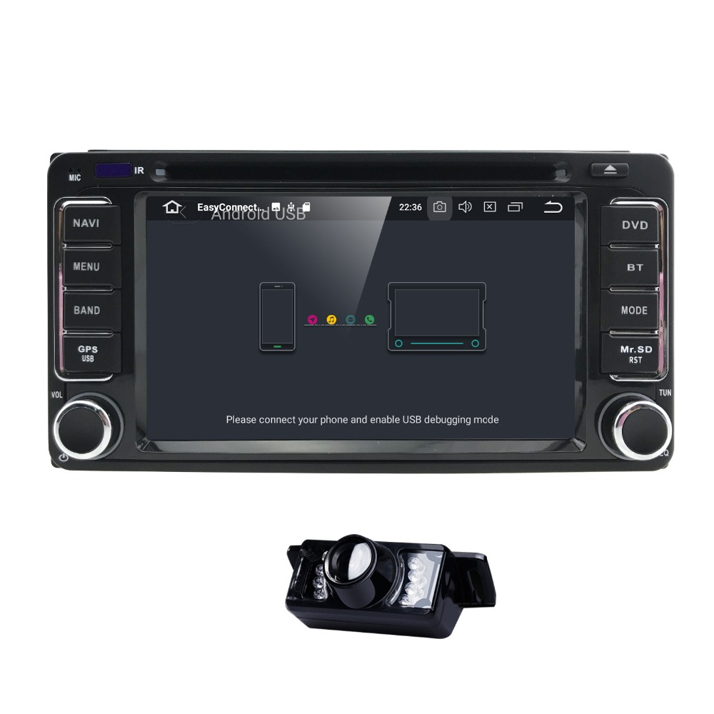 Автомагнитолы 2 din Android 8,0 dvd-плеер для Toyota Rav4 Land cruise 100 Corolla 150 Prado 150 120 hilux матрица yaris Camry ТВ