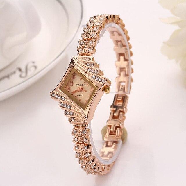 Elegant Women Dress watches Famous brand women bracelet watch fashion Luxury Lad