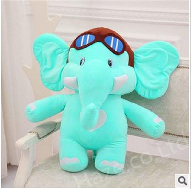 """Deluxe Dumbo Elefante Jumbo GRANDE Enorme Bicho de Pelúcia Boneca de Brinquedo 18"""""""