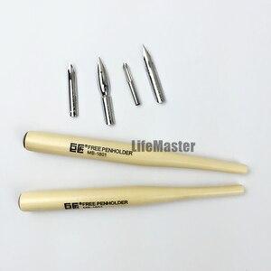 "Image 2 - LifeMaster יפן Nikko קומיקס מח""ש עטי סט (4 שפיץ + 2 ידיות) בית הספר/G/D/מארו עט ציפורן מנגה אמנות עט עבור סקיצה קריקטורה"