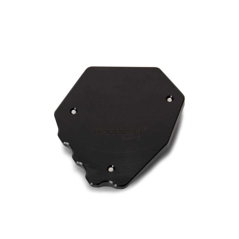 Ampliador de Kickstand Descanso Lateral Extensão Pad Placa de Suporte para HONDA Africa Twin CRF1000L 18 16-19 Adv Esportivos- 19