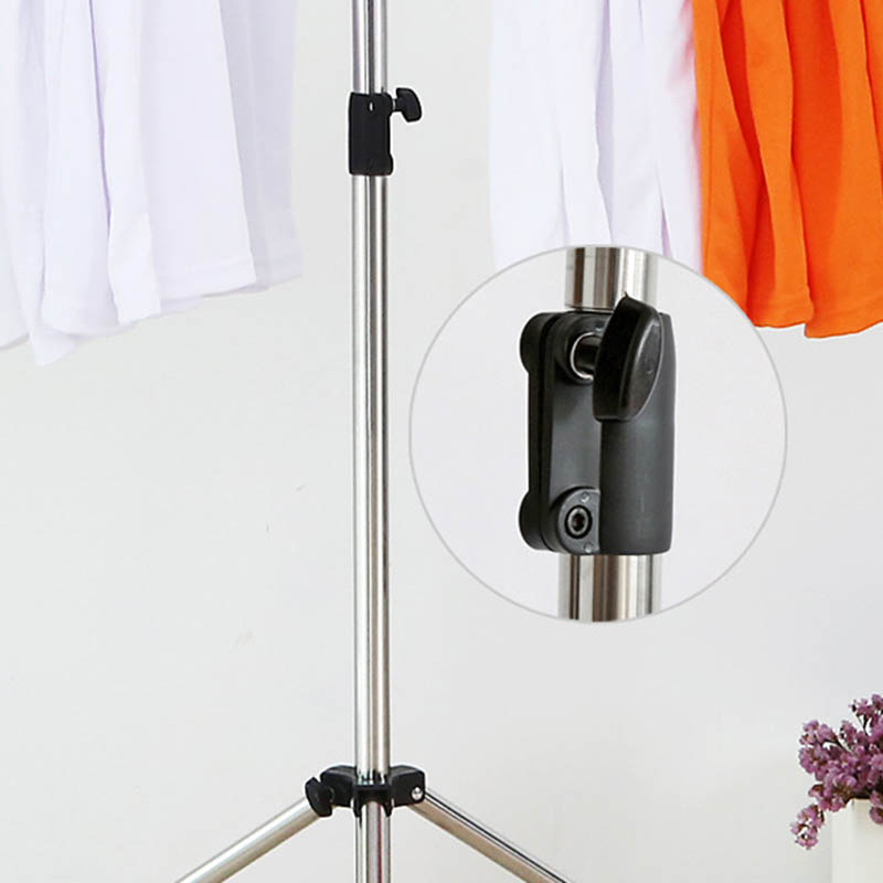 Vêtements nouvellement pliables étendoir acier inoxydable réglable vêtement vêtements cintre pour intérieur extérieur