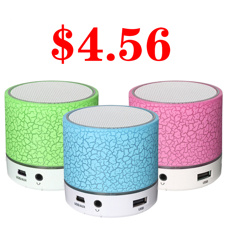 LED A9 Portable Mini Bluetooth Speakers Wireless USB Player Speaker With TF USB FM Blutooth Music For Car Mobile Phone iPhone 6 mazari конструктор cube iq 6007