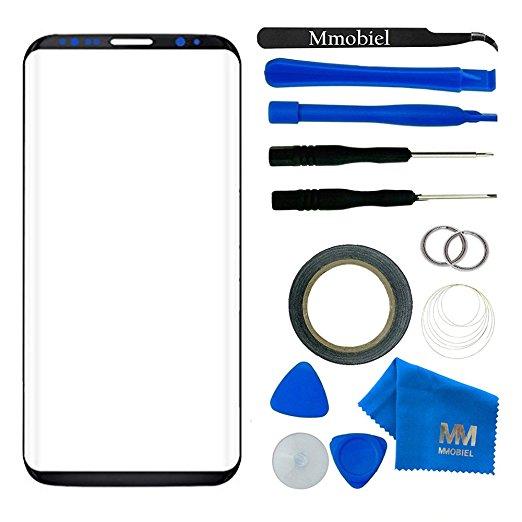 MMOBIEL Pour Samsung Galaxy S8 Plus (6.2 pouce) g955 Avant Tactile En Verre Panneau Écran Digitizer Affichage Réparation Outils 12 Pièces