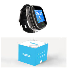 Bluetooth Waterproof GPS global positioning Children Wearable watch phone Kids Wrist Mobile phone App For Android IOS CUBOT(China)
