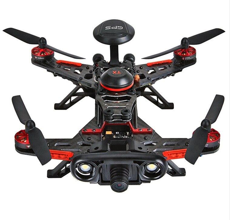 D'origine Walkera Coureur 250 Avance GPS Système RC Drone Quadcopter RTF avec DEVO 7 Télécommande/OSD/Caméra /GPS V4 F16182