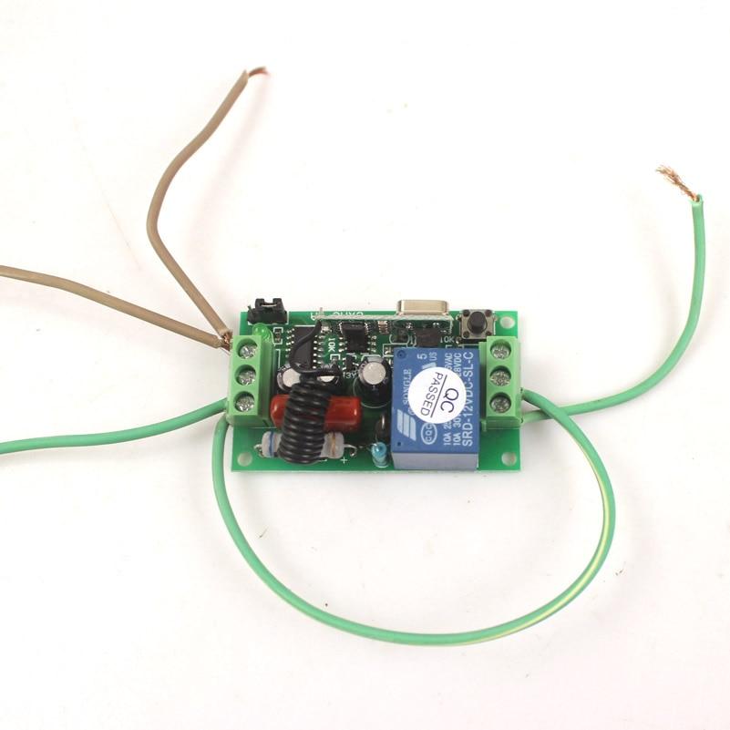 Sleeplion Drahtlose Fernbedienung Lichtschalter 10A Relaisausgang ...