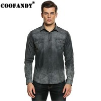 COOFANDY In Men S Casual Shirts 2017 Newest Male Clothes Men Shirts Slim Long Sleeve Button