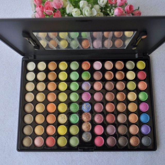 88 Full Color New Makeup Warm Pro Eyeshadow Palette Eye Beauty Cosmetics Make up Set 88 Flower 88F