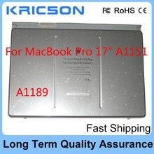 New battery A1189 For Apple MacBook Pro A1189 17″ A1151 MA092 MA611 MA897 MA458