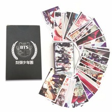 SGDOLL KPOP BTS Bangtan Boys New Album WINGS Photo Poster 30pcs Set Lomo Card Gift Fans