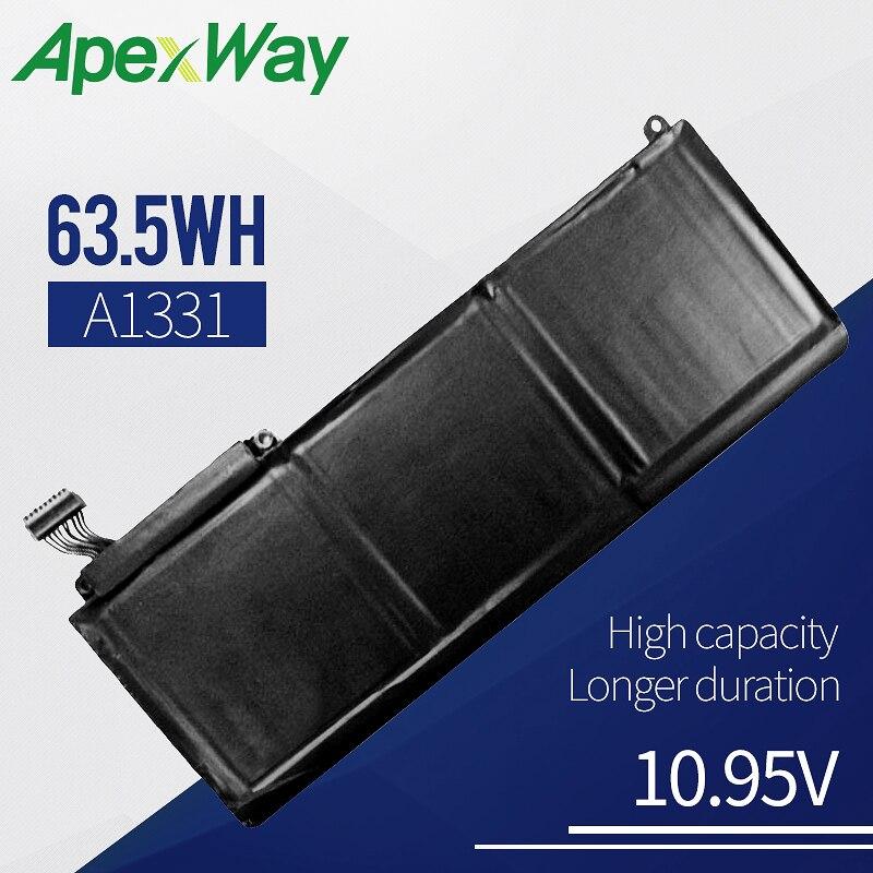 63 5Wh 10 95V Laptop Battery For font b APPLE b font A1331 A1342 MC207 661