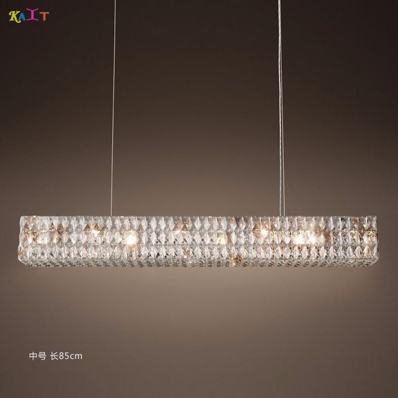 LED lampadario in stile Moderno Cristal Lampadari di Illuminazione Rotonda Lampadario di Cristallo Halo - 2