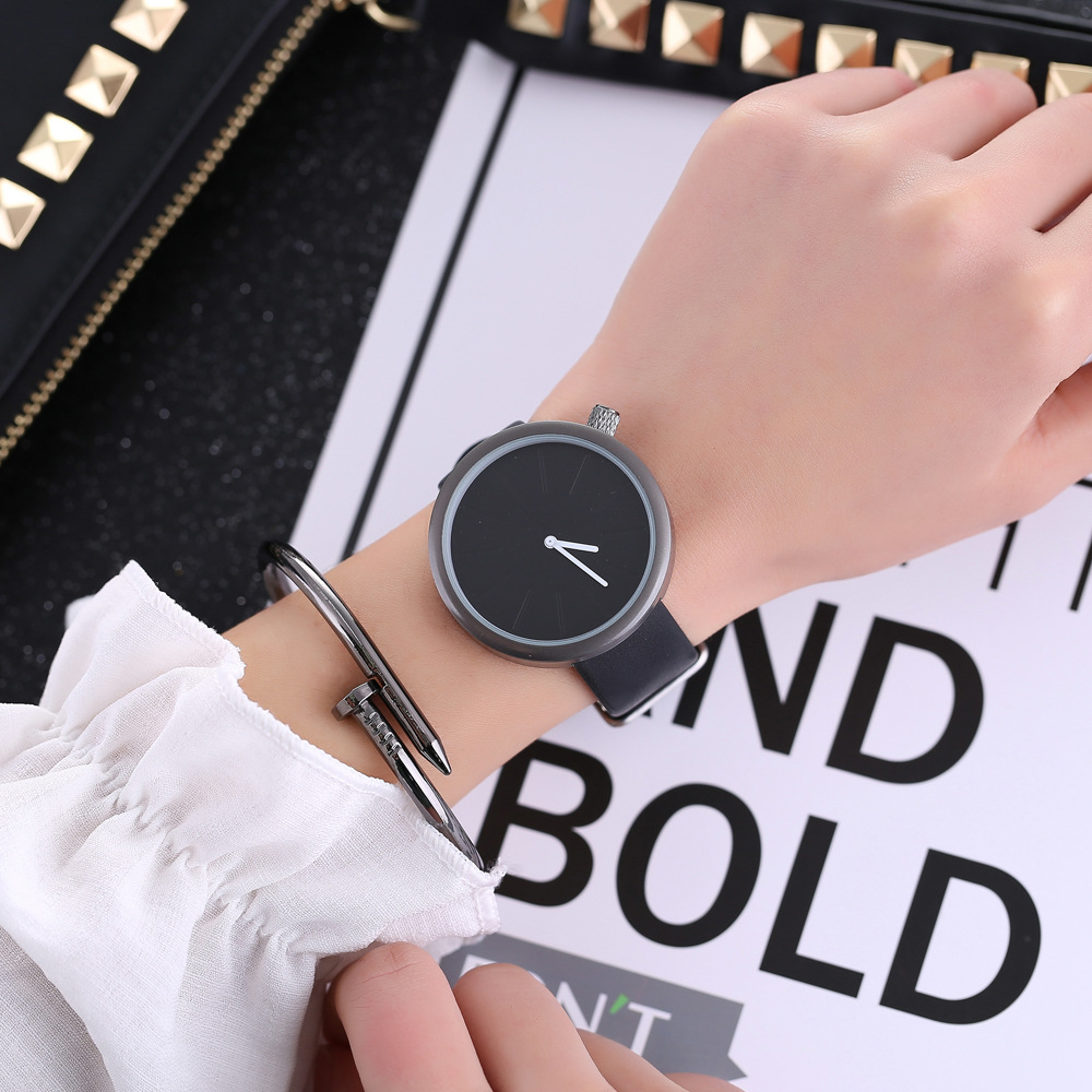 2018 New Design Colorful Style Simple Dial Watch Women Elegant Thin Strap Fashion Any match Casual Lady Wristwatch hours