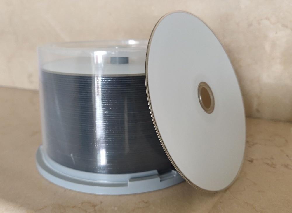 Free Shipping  CMC A+ Blue Ray Disc BD-R 50GB Bluray DVD BDR 50g Inkjet Printable 6X  50pack