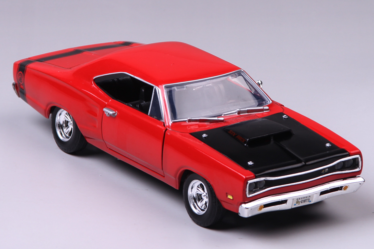 High Simulation High Quality 1:24 Scale Ford Crown Super Bee 1969 Alloy Car Model For Birthday Kids Toys Gifts Free Shipping