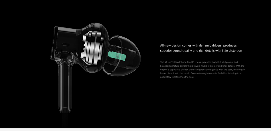 Original Xiaomi Hybrid Earphone Metal Bass HiFi In-Ear Earphones Xiaomi Ring Circle Iron Earbuds With MEMS Microphones For Phone (1)