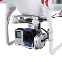 2 Axis Brushless Gimbal Aerial Photography Gimbal plug and play PTZ For DJI Phantom 1 2 F550 F450 GoPro DIY Drone Accessories